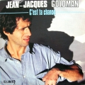 Partition piano C'est ta chance de Jean-Jacques Goldman