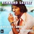 pochette - Tu Me Manques - Bernard Sauvat