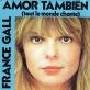 pochette - Amor También - France Gall