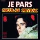 Partition piano Je pars (le vol de nuit s'en va) de Nicolas Peyrac