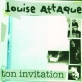 Partition piano Ton invitation de Louise Attaque