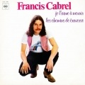 Partition piano Je l'aime à mourir de Francis Cabrel