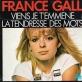 pochette - Viens je t'emmène - France Gall