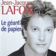 pochette - Le géant de papier - Jean-Jacques Lafon
