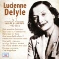 pochette - Valse brune - Lucienne Delyle
