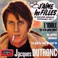 pochette - J'aime les filles - Jacques Dutronc