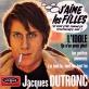 Jacques Dutronc - J'aime les filles Piano Sheet Music