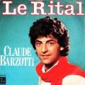 pochette - Le rital - Claude Barzotti