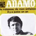 pochette - Le ruisseau de mon enfance - Salvatore Adamo