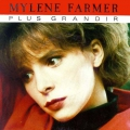 pochette - Plus grandir - Mylène Farmer