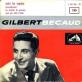 pochette - Les marchés de Provence - Gilbert Bécaud