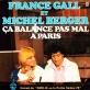 pochette - Ca balance pas mal à Paris - Michel Berger