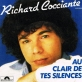 Partition piano Au clair de tes silences de Richard Cocciante