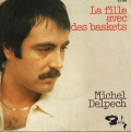 pochette - La fille avec des baskets - Michel Delpech
