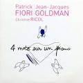 pochette - Quatre mots sur un piano - Patrick Fiori