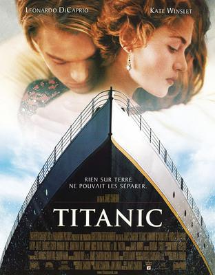 partition Le portrait du film Titanic