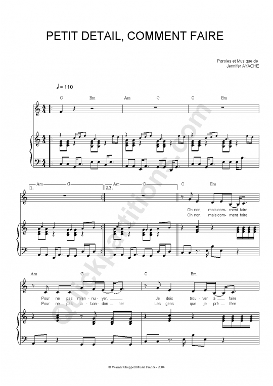 Partition piano petit d tail comment faire superbus partition digitale - Petit quick coloriage ...